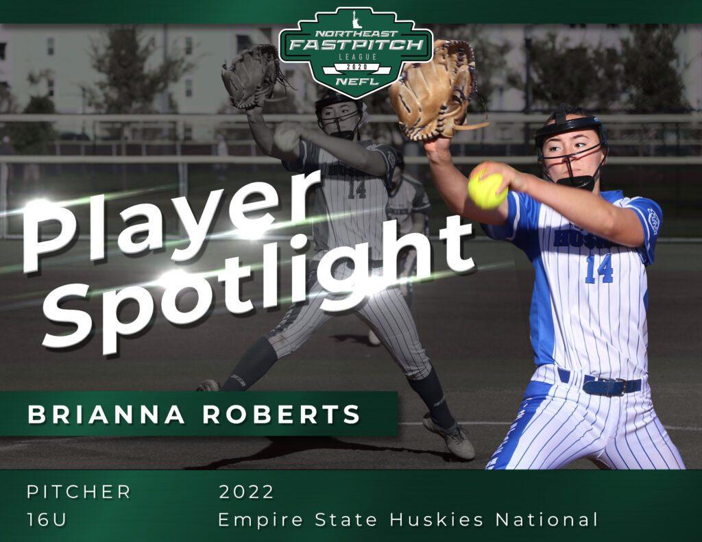 Northeast Fastpitch Player Spotlight Brianna Roberts (2)