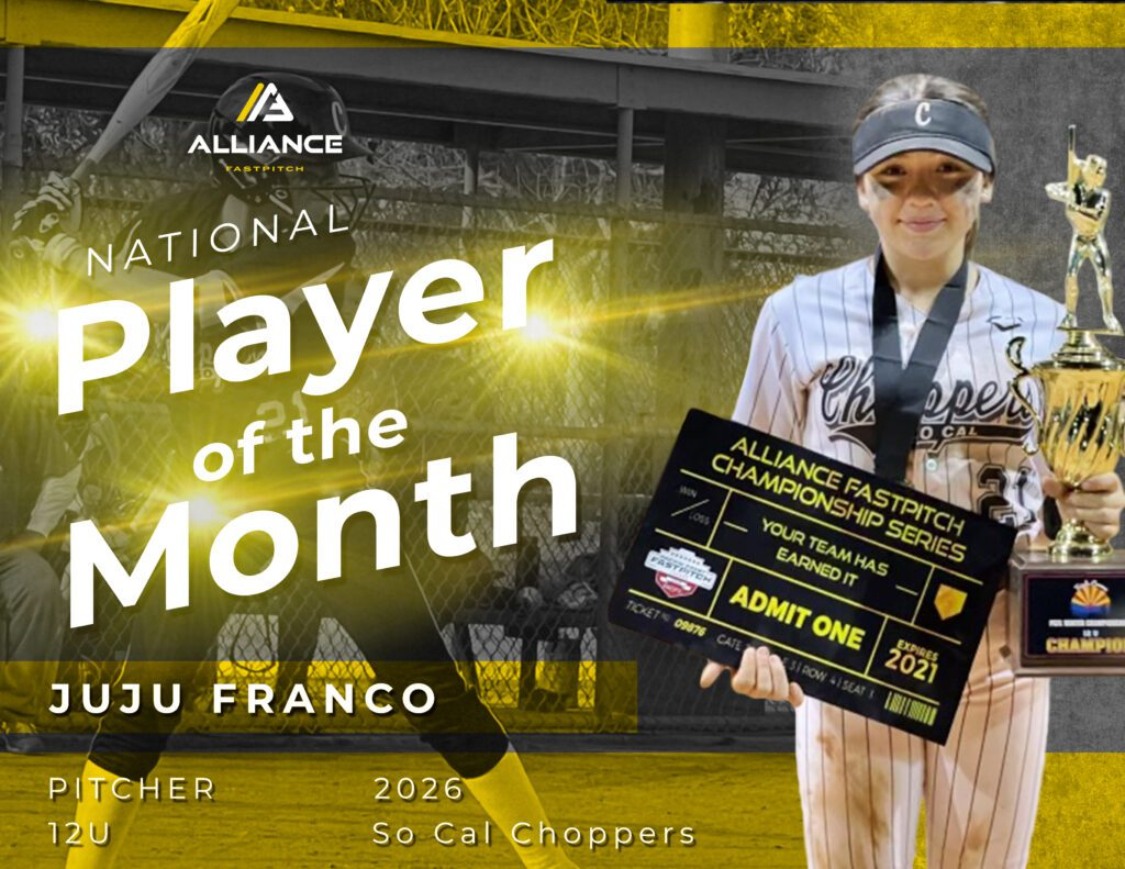 Alliance Player of the Month Juju Franco 2