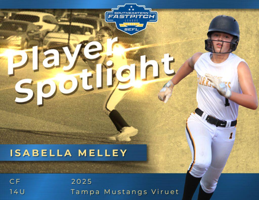 Isabella Melley Southeastern Fastpitch Player Spotlight copy
