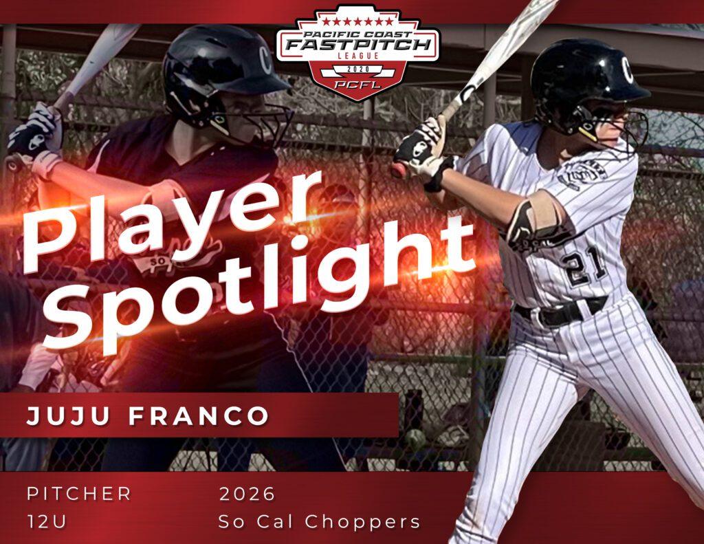 Juju Franco Pacific Coast Fastpitch Player Spotlight (1)