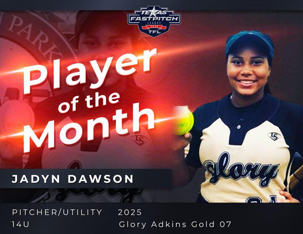 Jadyn Dawson Player of the Month