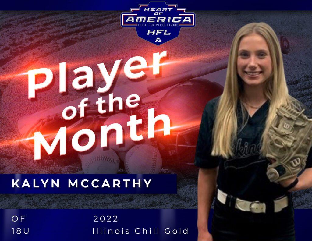 Heart of America Kalyn McCarthy