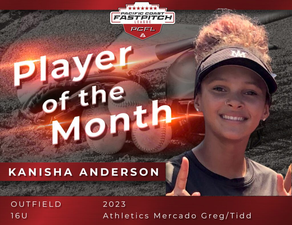 Pacific Coast Fastpitch POM Kanish Anderson